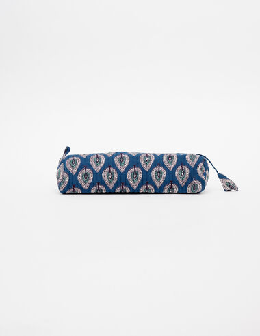 Blue leaves pencil case - View all > - Nícoli