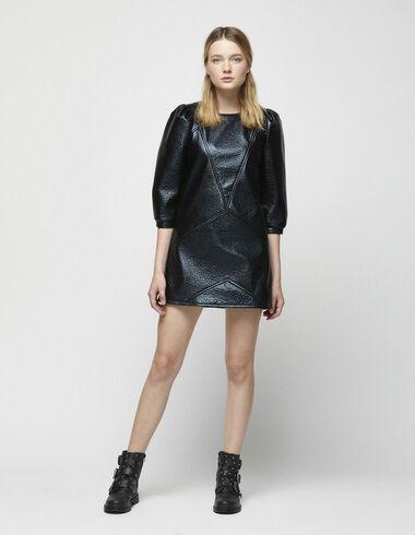 Robe noir métallisé - Robes - Nícoli