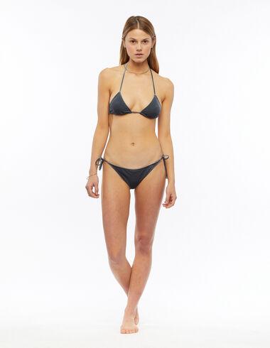 Bikini terciopelo verde - Trajes de baño - Nícoli