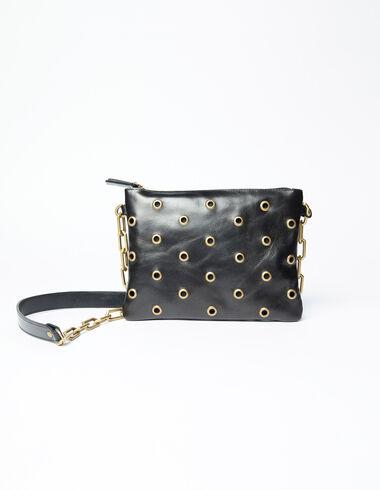 Black studded rock bag - Olivia's Favourites - Nícoli