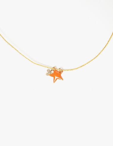Gold clover star necklace - Necklaces - Nícoli