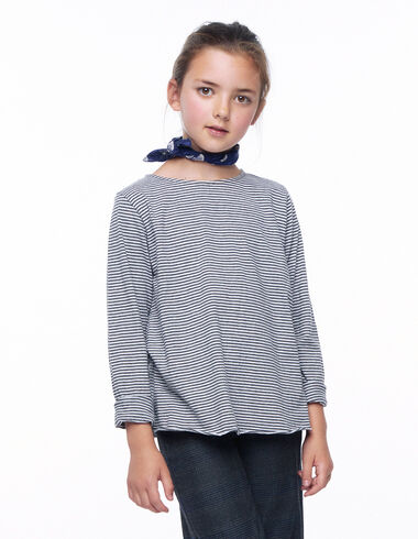 Grey and anthracite long-sleeved T-shirt - New in - Nícoli