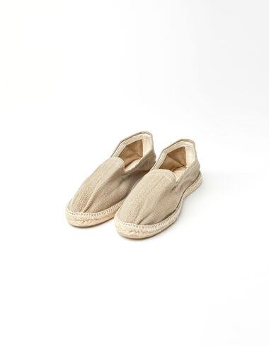 Beige espadrilles - Shoes - Nícoli