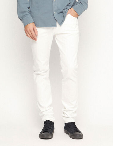 White 5 pockets trousers - View all > - Nícoli