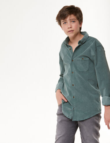 Camisa pana verde claro - Camisas - Nícoli