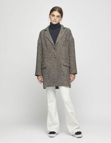 Manteau gris épis de blé - Voir tout > - Nícoli
