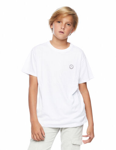 Camiseta smile blanca - New in - Nícoli
