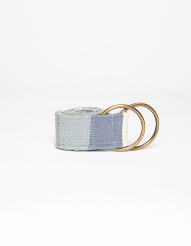 Blue checkered belt - View all > - Nícoli