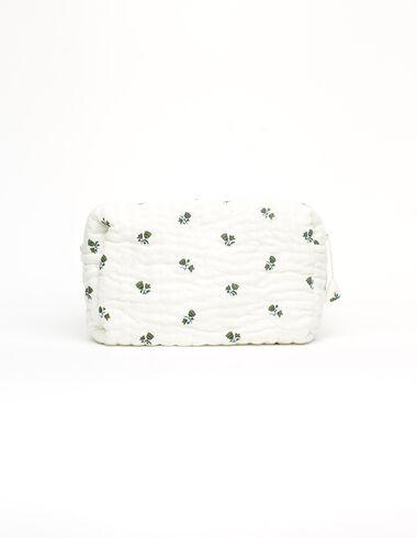 Neceser grande flores verde - Neceseres - Nícoli