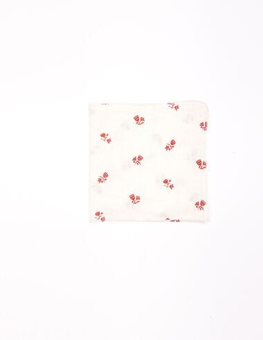 Pañuelo flores fresa - New Flower Print - Nícoli