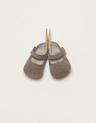 Mercedita gris - Zapatos - Nícoli
