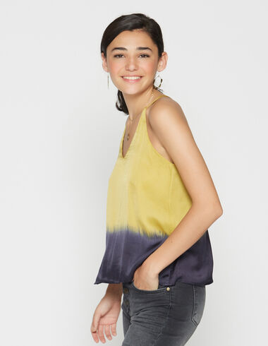 girl's mustard tie dye top - View all > - Nícoli