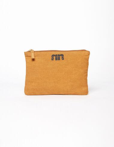 "Mustard ""n"" make-up bag - Make-up bags - Nícoli"