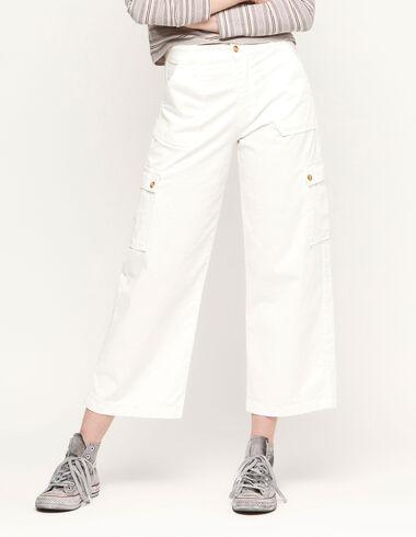 Pantalón cargo blanco - Ver todo > - Nícoli
