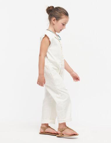Combinaison longue manches courtes blanche - Voir tout > - Nícoli