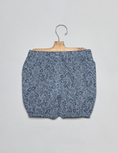 Blue flower baby bloomers - View all > - Nícoli
