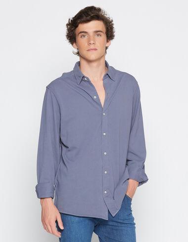 Boy's dark lavender polo shirt - View all > - Nícoli
