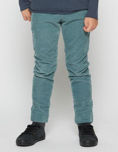 Chino largo niño pana verde - Pantalones largos - Nícoli