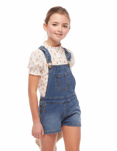 Denim dungarees - View all > - Nícoli
