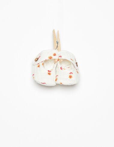 Chaussures bouton fleurs petites fraise - Voir tout > - Nícoli