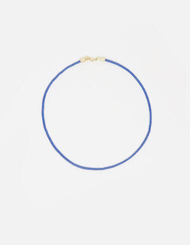 Collier petits élastiques bleu - Voir tout > - Nícoli