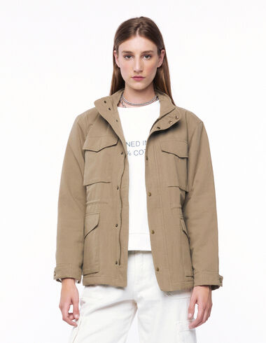 Green jacket with pockets - Outerwear - Nícoli