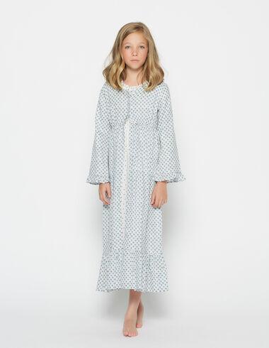 Girl's lavander bathrobe - Pijamas - Nícoli