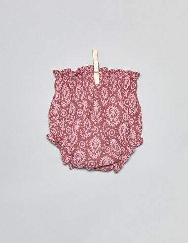 Strawberry paisley newborn bloomers - View all > - Nícoli