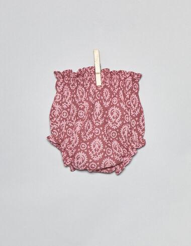 Pololo primera puesta paisley fresa - Pololos - Nícoli