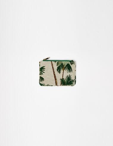 Porte monnaie imprimé palmiers - Porte-monnaie - Nícoli
