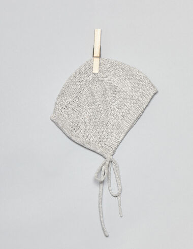 Gray pointed bonnet - Accesories - Nícoli