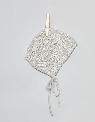 Capota bebé punto gris - Complementos - Nícoli