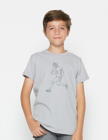 Boy's short-sleeved player charity t-shirt - View all > - Nícoli