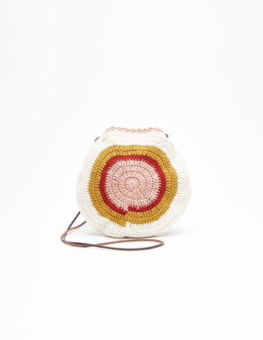 Strawberry knitted crossbody bag - Shoulder bags - Nícoli