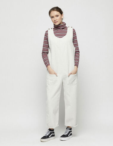 Off-white corduroy jumpsuit - New in - Nícoli