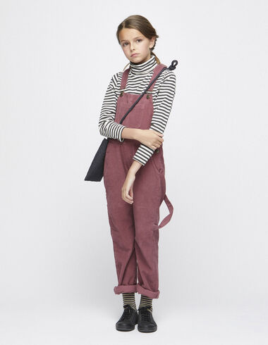 Strawberry corduroy dungarees - Playsuits & Dungarees - Nícoli