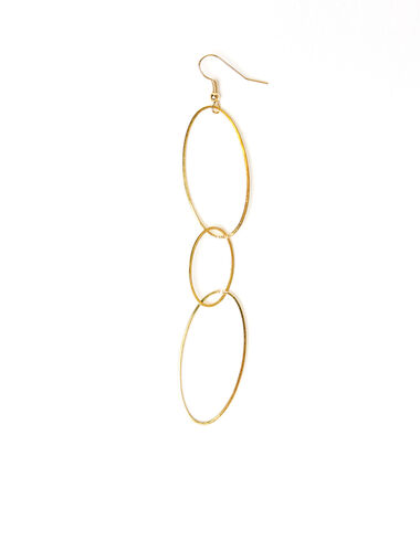 Mix oval earring - View all > - Nícoli