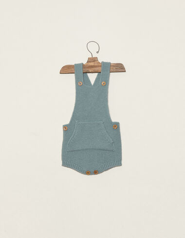Blue romper with pocket - View all > - Nícoli