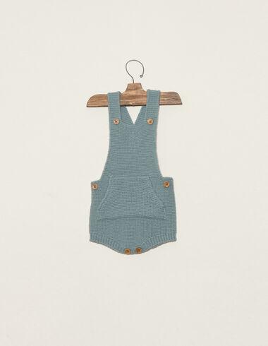 Barboteuse bleue à poche - Voir tout > - Nícoli