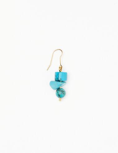 Boucles d'oreilles pierres bleues - Voir tout > - Nícoli