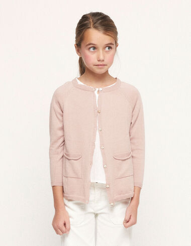 Pink jacket with buttons - View all > - Nícoli