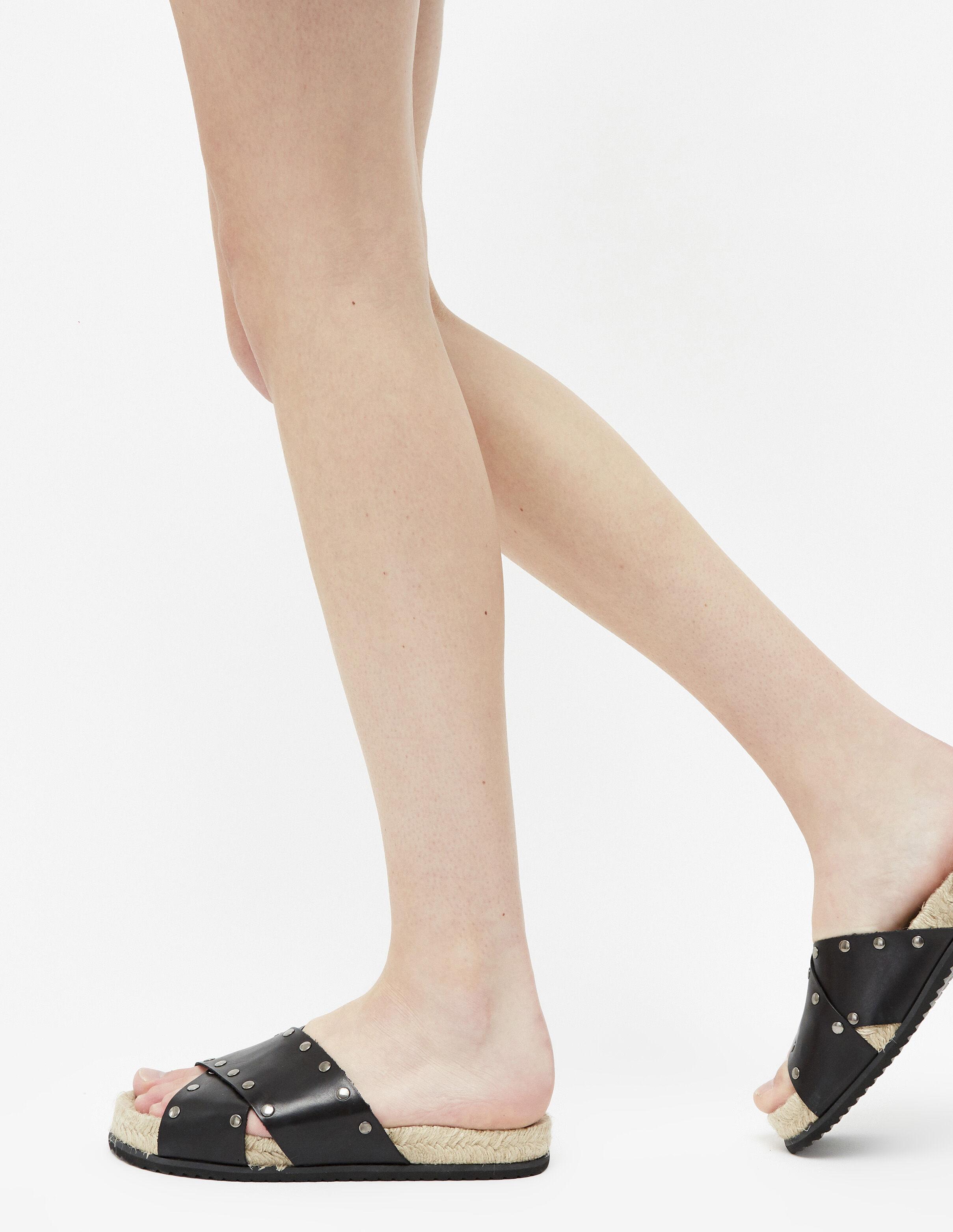 909d5697629cf6 Noires Femme Sandales Femme Cloutées Cloutées Noires Sandales Femme Noires  Sandales Cloutées Noires Cloutées Sandales tQCshrd