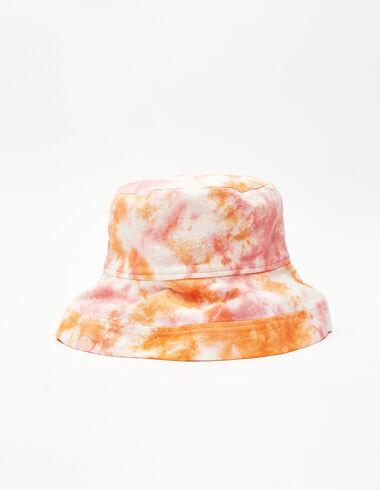Bonnet tie-dye orange et fraise - Your Summer Suitcase - Nícoli