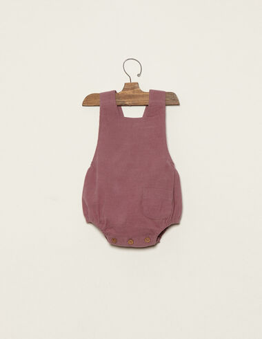 Berry romper with pocket - View all > - Nícoli
