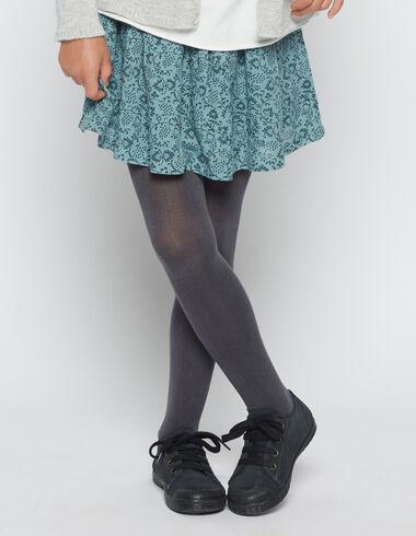 Falda niña lazo flor verde - Faldas - Nícoli