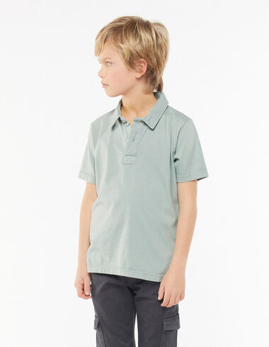 Green polo shirt - View all > - Nícoli