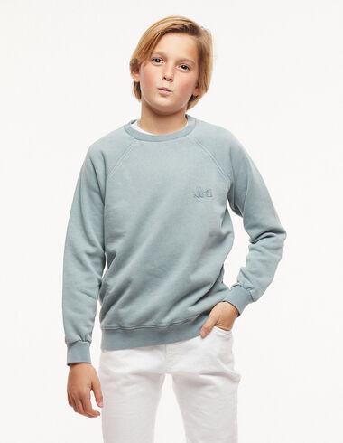 Sweat-shirt 'Nícoli' bleu - New in - Nícoli