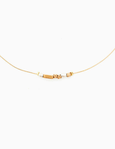 Gold/silver pieces necklace - Accesories - Nícoli