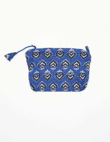 Blue and anthracite make-up bag - View all > - Nícoli