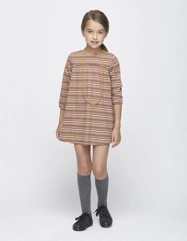 Robe rayures claires - Voit tout > - Nícoli